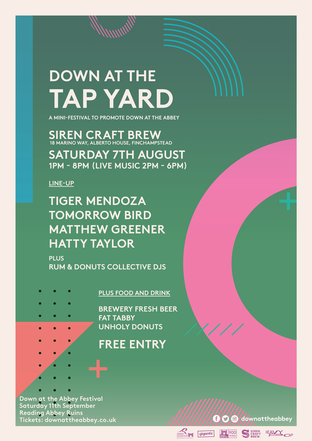 Down at the Tap Yard poster
